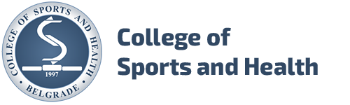 College of Sports and Health – Belgrade Logo